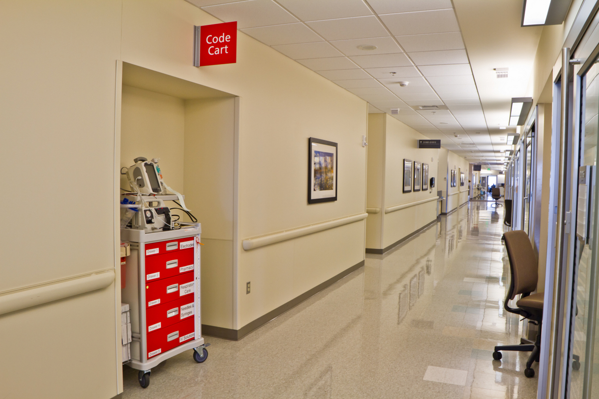 Emergency Code Cart Hospital